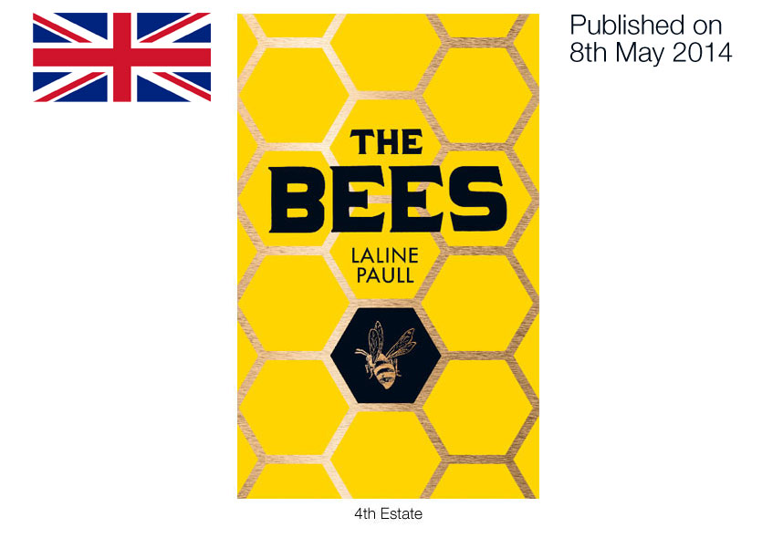 The Bees UK book cover. Photo: Laline Paull's official website.
