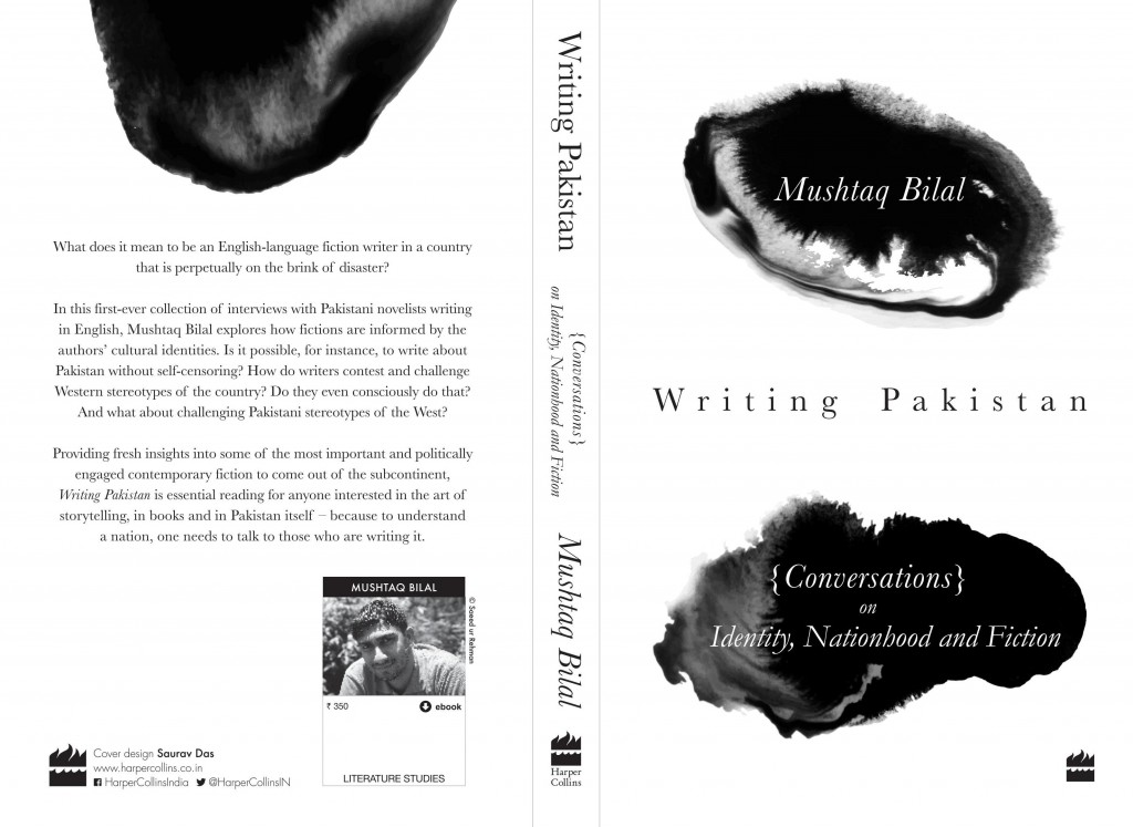 Writing Pakistan: Conversations on Identity, Nationhood and Fiction book cover (HarperCollins India)