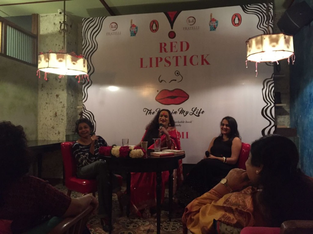 At the Delhi launch of Red Lipstick: The Men in My Life (Penguin Random House, 2016)
