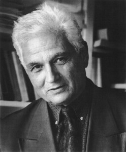 Jacques Derrida. Photo courtesy The Philosophy dot com