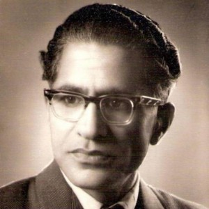 Ahmed Nadeem Qasmi. Photo courtesy Radio Pakistan