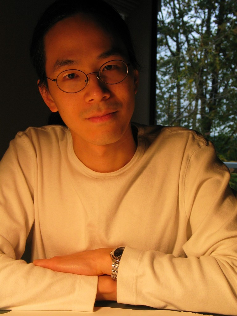 Ted Chiang. Photo by Marcia Glover