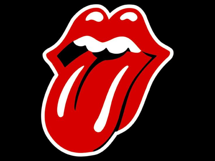 The Rolling Stones Lips and Tongue Logo (Courtesy The Rolling Stones)