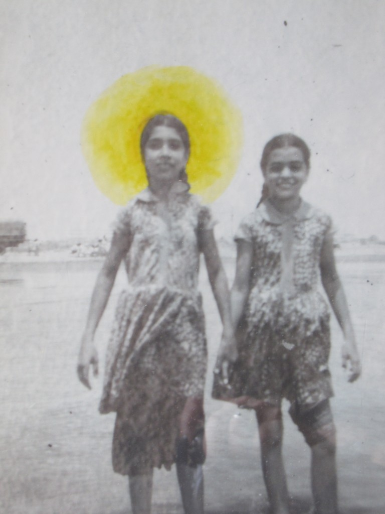 """St. Joseph's Girls"" by Amra Khan. 2014. Photo pigment on archival paper. 11.5 x 9.5 inches."