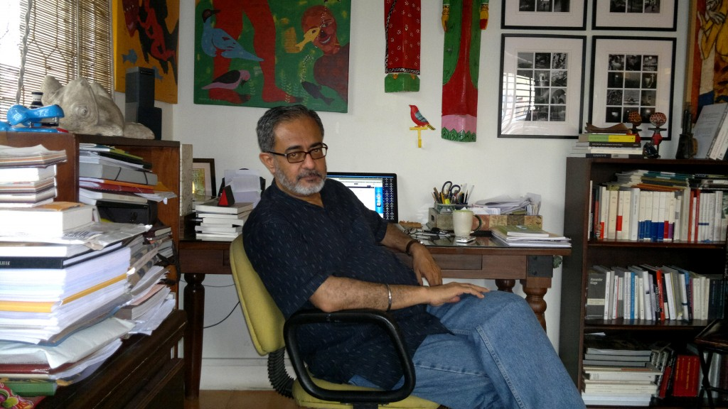 Naveen Kishore of Seagull Books. Photo credit: Sunandini Banerjee