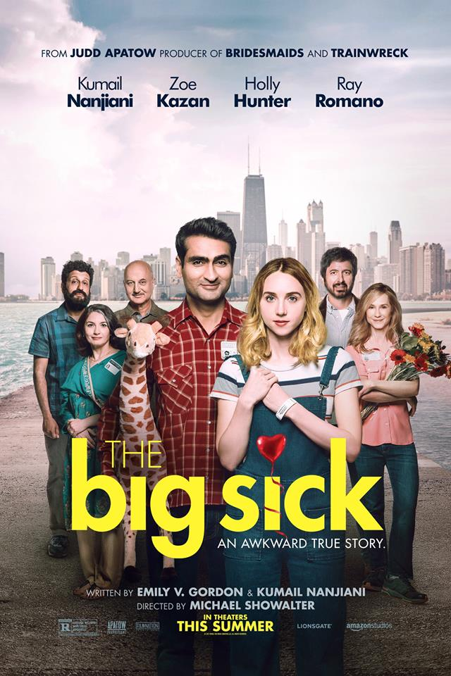 The Big Sick poster. Photo credit: The Big Sick Official Facebook page