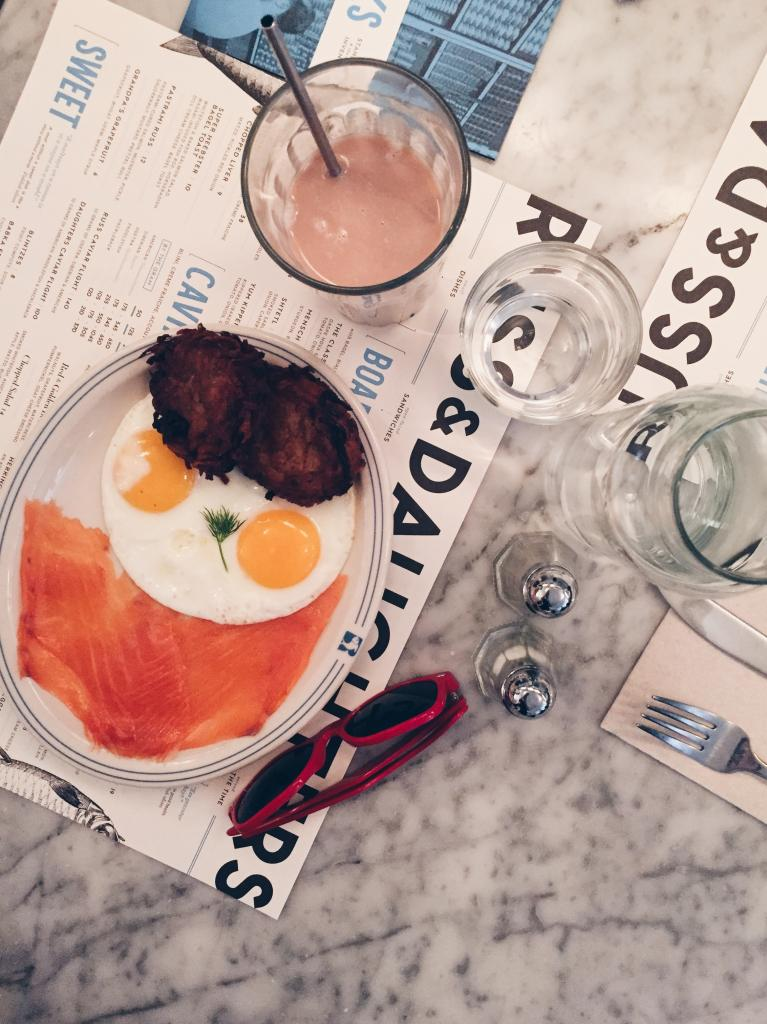 Breakfast at Russ and Daughters
